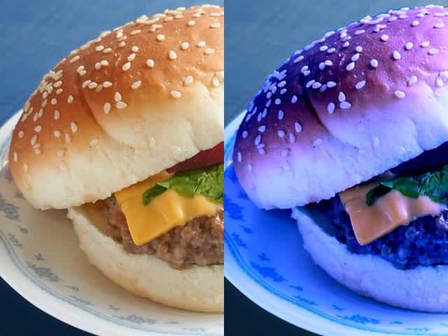 食べ物は赤系の色のほうが食欲を刺激します